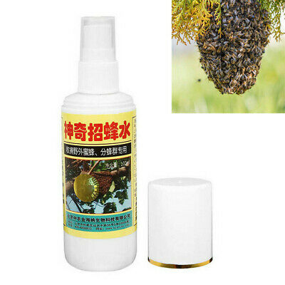 100ml Swarm Commander Premium Lure Bait Honey Bee Hive Beekeeping Trap Tool DEN