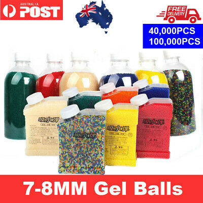 7-8mm Hardened Ammo High Quality Bottled Gel Balls for Gel Blaster Toy Gun/AU