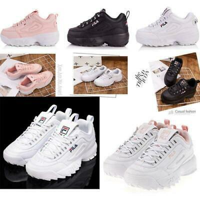 FILA Femmes Baskets Sport Fitness Gym Baskets Chaussures de course occasionnelSN