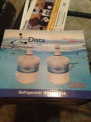 Refrigerators & Freezers 2 Pack Dista Dwf-10 Replacement Refrigerator Water Filters New In Box