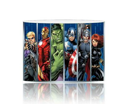(002) Avengers Lampshade / Ceiling Light Shade Kids Free P+P