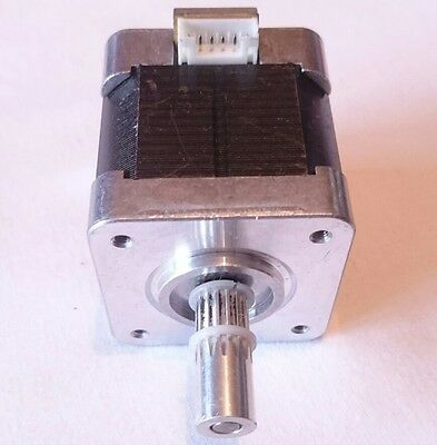 NEMA17 STEPPER MOTOR 49Ncm 6WIRE BIPOLAR 1.8DEGREES 350g hybrid 17PM-K404V 5Kgcm