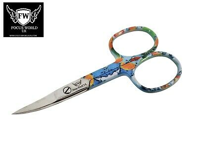 Stainless Steel Finger Toe Nail Scissors  Manicure Cuticle Scissors (New)