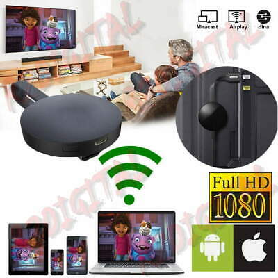 Adattatore Display Hdmi Wireless Dispositivo Chromecast Google Mirascreen Media