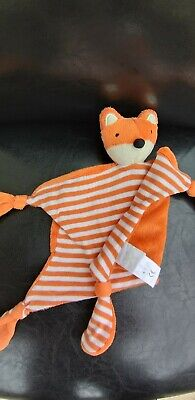 Jojo Maman Bebe Orange Fox Comforter Blankie