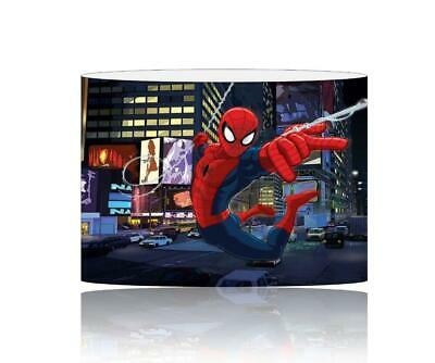 (055) Spiderman Lampshade / Ceiling Light Shade Kids Free P+P
