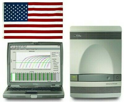 ABI 7300 real-time PCR fully refurbished with laptop SDS v1.4 ~ 1 yr warranty