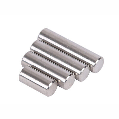 A2 304 Stainless Steel - Dowel Pins Hardened & Ground - M4 M5 x(6mm to 50mm)