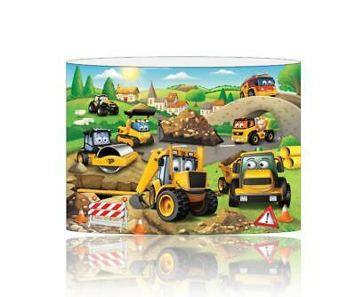 (083)  Jcb Lampshade / Ceiling Light Shade Kids Free P+P