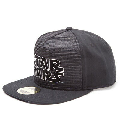 OFFICIAL Star Wars Metal Logo Baseball Cap Snapback Hat (NEW)