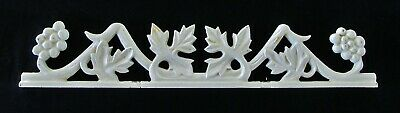 Grape vine and bunches motif fence topper section - perfect for tasting room