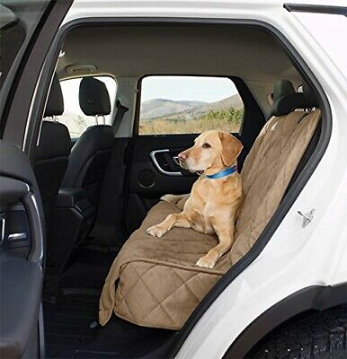 New Orvis Car Tan GRIP-TIGHT® QUILTED Tan MICROFIBER BACKSEAT PROTECTOR Dog Pet