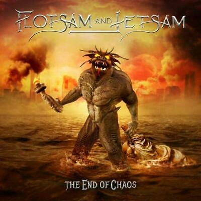 FLOTSAM AND JETSAM THE END OF CHAOS 13tracks Album Music CD/OBI Japan USED