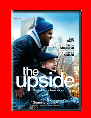 The Upside [DVD] [2019] NEW- Comedy, Drama-PRE-SALE SHIPS ON 05/21/19