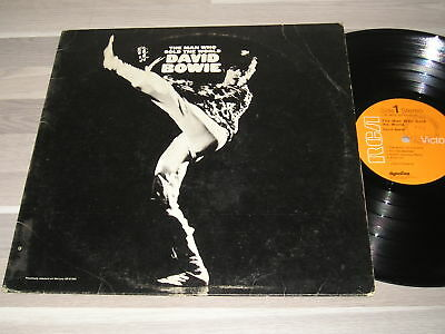 DAVID BOWIE : The Man Who Sold the World - RARE LP 33T. - USA 1972