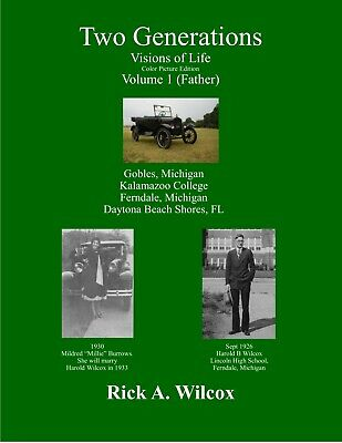 Two Generations-Visions of Life, Volume 1, soft cover