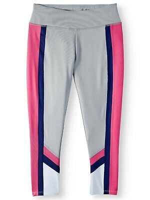 AVIA  Colorblock Active Legging Girls Size 7-8