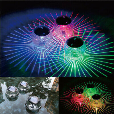 Underwater Show LED Disco Ball Light 7 Color Bath Hot Tub SPA Decor Pool Party