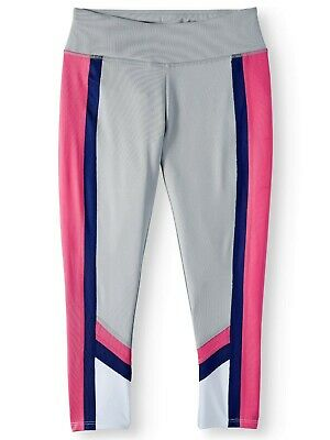 AVIA  Colorblock Active Legging Girls Size 4-5