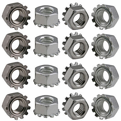304 Stainless Steel K-Lock (Keps) Nuts External-Tooth Lock Washer M3 M4 M5 M6 M8
