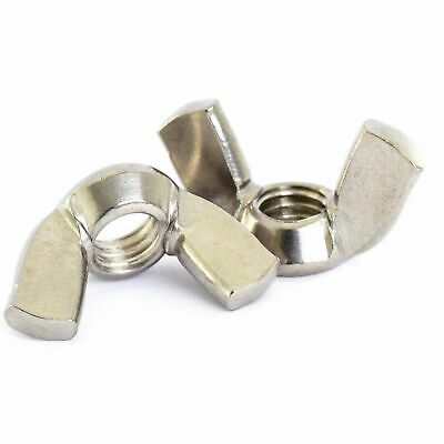 A2 304 Stainless Steel - Wing Thumb Hand Nuts - M3 M4 M5 M6 M8 M10 M12