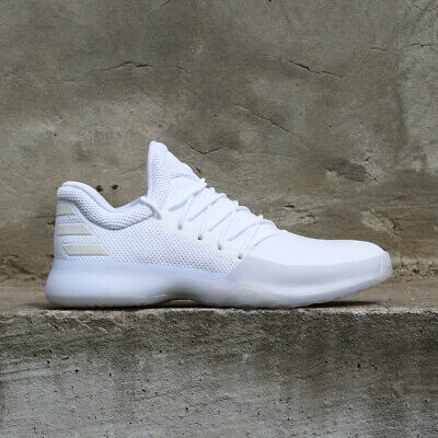 75ceca31c28f adidas Harden Vol. 1 BY4525 Yacht Club Party Triple All White Rockets  Basketball