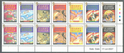 Great Britain-Harry Potter 2007 mnh 2 sets