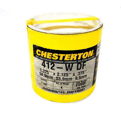 Chesterton 412-W DF Synthetic Multi-Service Pump Packing 1.375 x 2.125 x .375""