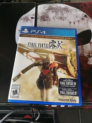 Final Fantasy Type-0 HD - Day One Edition: PS4 Playstation
