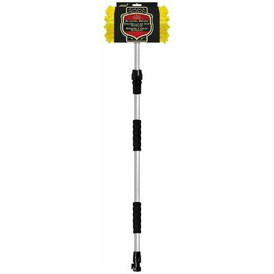 RV-Truck Wash Brush on a  60 ' telescopic flow throw handle with on & off valve