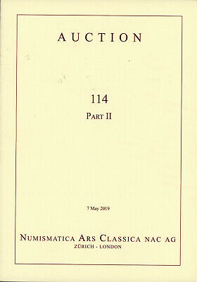 2019 NAC 114 Part II - Important Ancient Greek Gold Silver Coin Auction Catalog