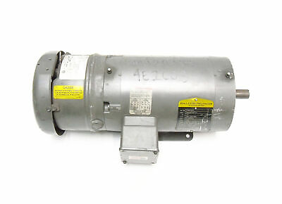 Baldor VBM3554T Electric Motor 1.5 HP 1740 RPM 145TC Stearns 105603100BPF Brake