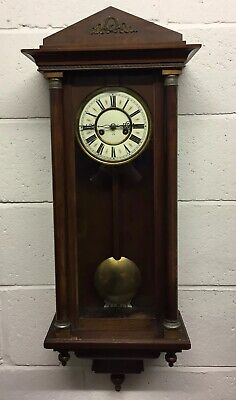 Antique 19th Century Vienna Wall Clock