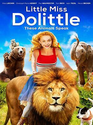 Little Miss Dolittle(2019) BLU-RAY ONLY!!! FAST SHIPPING!!!