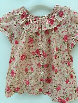 Ralph Lauren Girls Blouse Top Shirt 4 Years