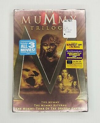 The Mummy Trilogy New DVD The Mummy/The Mummy Returns/Tomb of the Dragon Emperor