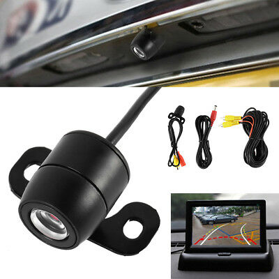 170° Waterproof Reverse Car Rear View Kit Backup Parking Camera IR Night Vision
