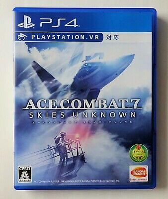 ACE COMBAT 7 Skies Unknown [ Namco ] Sony PlayStation 4 Japan
