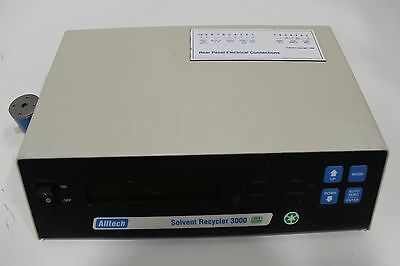 Alltech Solvent Recycler 3000 Autoclean Waste Detector 90-240 VAC 50/60 Hz 2 Amp