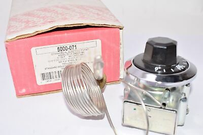 NEW ROBERTSHAW 5000-071 Commercial Thermostat, 0/100 deg. F, 84'' Cap L