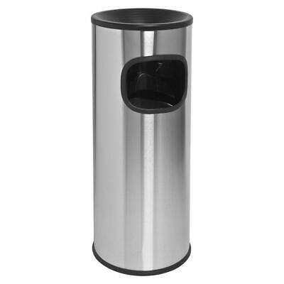 3 gal. fire-safe outdoor ashtray | receptacle genuine stainless joe trash can