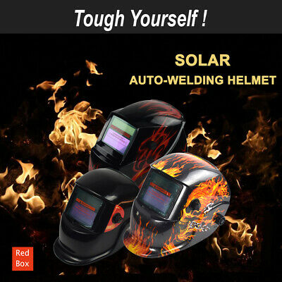 New Solar Auto Darkening Welding Helmet Mask ARC TIG Grinding Welder Shield
