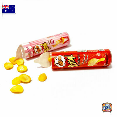 Mini Pringles Set of 2 - Miniature dollhouse 1:12 Little Shop Mini Brands