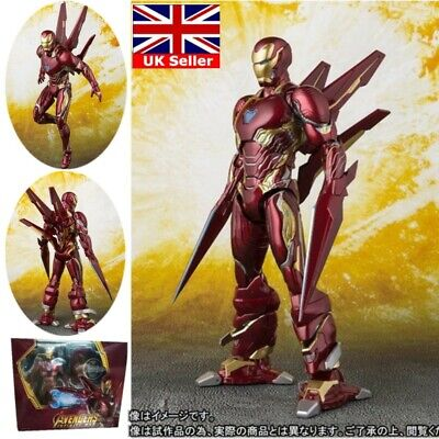 Deluxe S.H.Figuarts Iron Man MK-50 Marvel Avengers Infinity War Action Figure UK