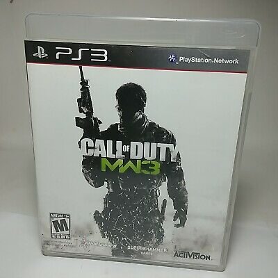 Call of Duty Modern Warfare 3 - PS3 Game w/ Manual, NTSC U/C, 2011 By Activision