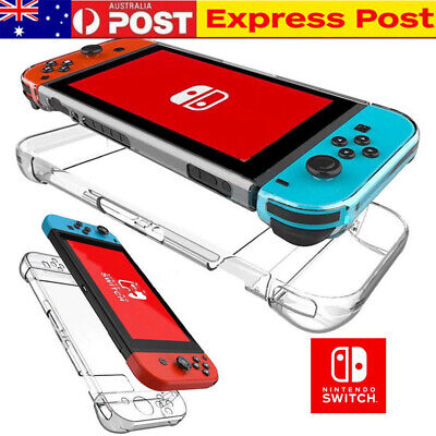 New For Nintendo Switch Transparent Clear Shockproof Protective Hard Case Cover