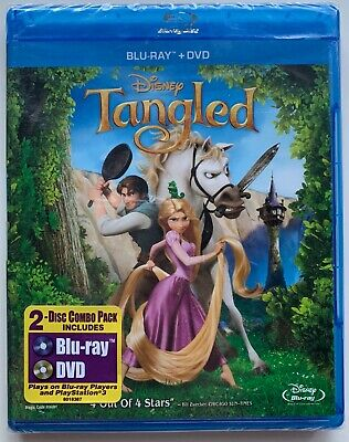 New Disney Tangled Blu Ray Dvd 2 Disc Set Free World Wide Shipping Buy It Now