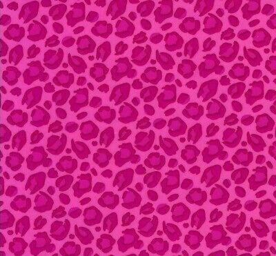 pink leopard design hydrographic film hydro dipped 50cm width, various lengths