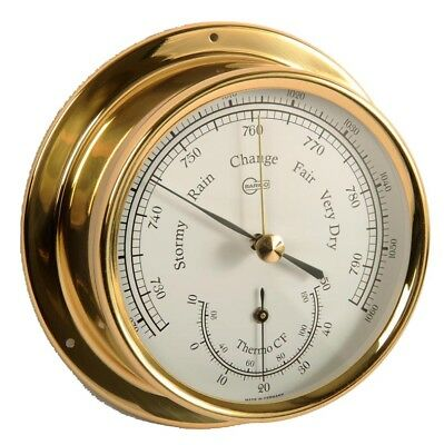 Sport Altitude 858th Thermometer Hygrometer Messing Maritim 127mm