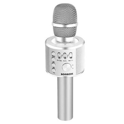BONAOK Wireless Bluetooth Karaoke Microphone,3-in-1 Portable Handheld karaoke Mi